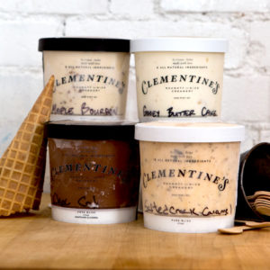pints of best selling ice cream