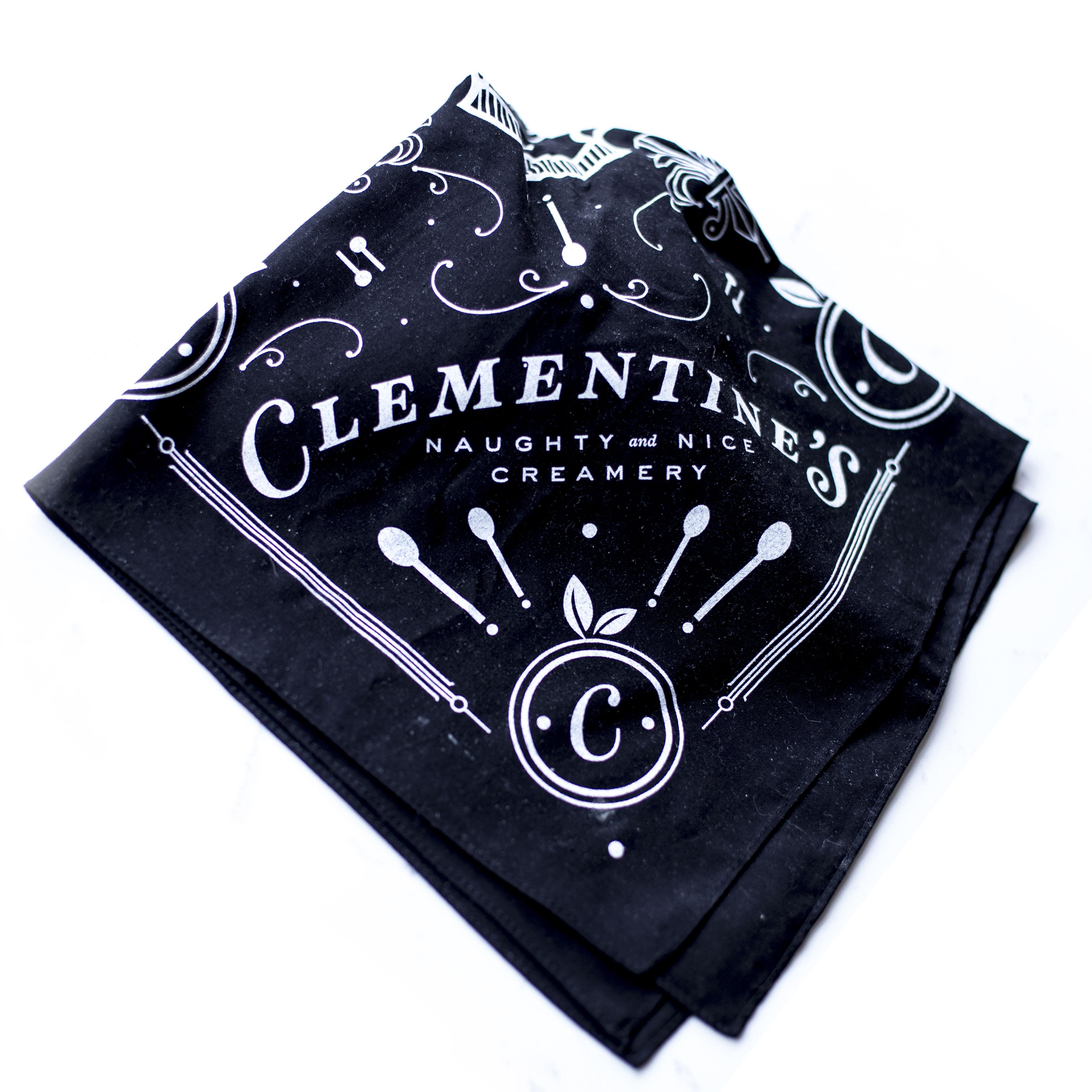clementine's ice cream bandana