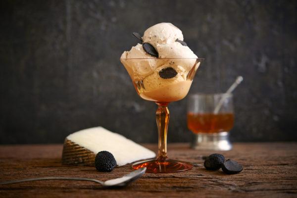 Manchego with Truffles & Honey