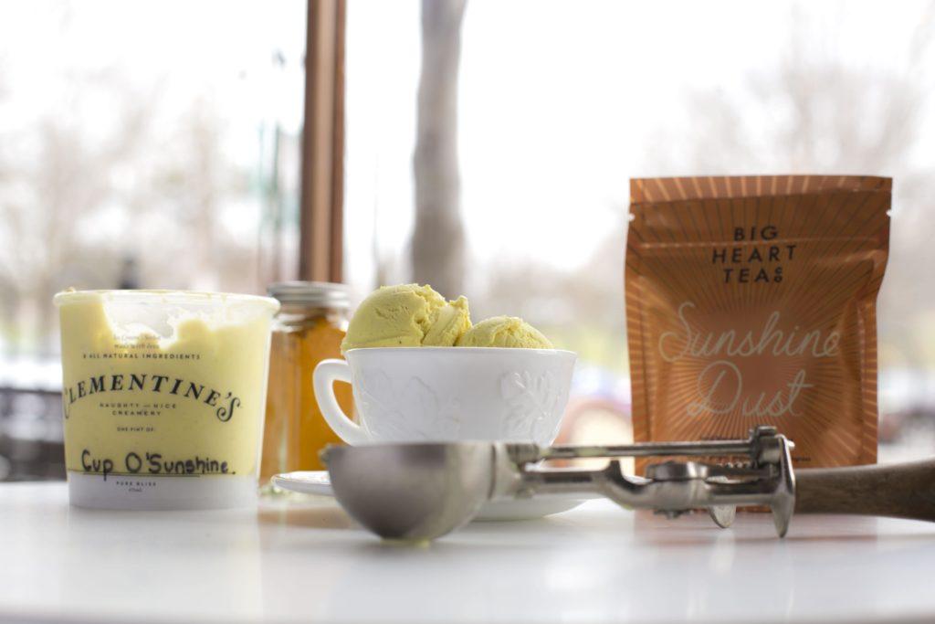 Clementine's Cup O' Sunshine Ice Cream